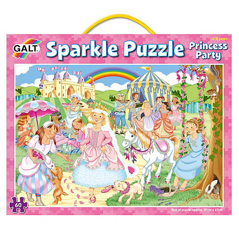 Galt - Sparkle Puzzle - Princess Party
