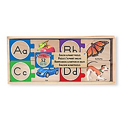 Melissa & Doug - Self-Correcting Letter Puzzles