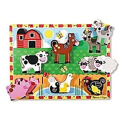 Melissa & Doug - Farm Chunky Puzzle