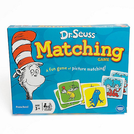 Paul Lamond Games - Dr Seuss matching game