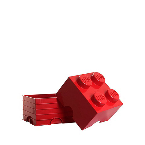 LEGO - Red storage brick 4