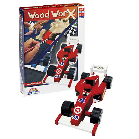 Wood Worx - Racing Cars