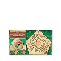 Melissa & Doug - Build-Your-Own Wooden Birdhouse