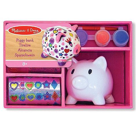Melissa & Doug - Decorate your own Piggy Bank