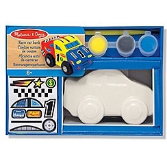 Melissa & Doug - Decorate your own Race Car Bank