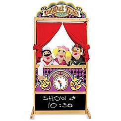 Melissa & Doug - Deluxe Puppet Theatre