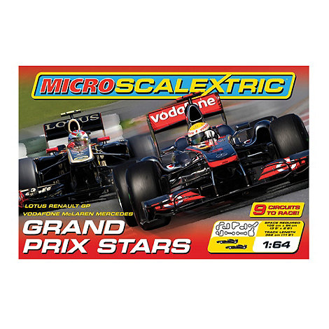 Scalextric - Grand Prix Stars 1:64 Scale Slot Race Set