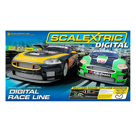 Scalextric - Race Line 1:32 Scale Slot Race Set