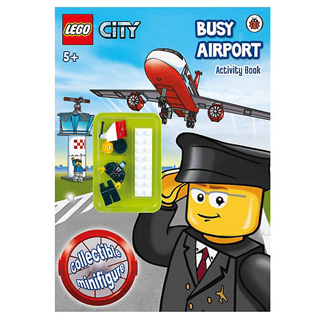 LEGO - City busy airport activity book