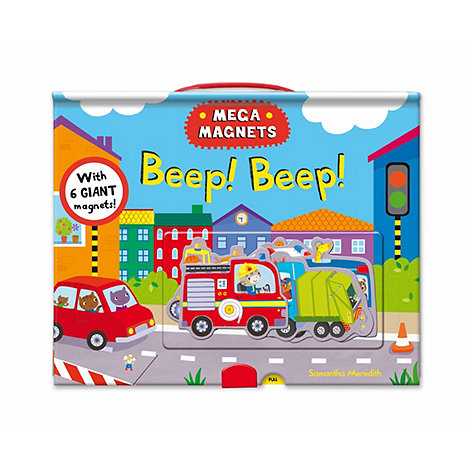 MacMillan books - Mega magnets beep beep