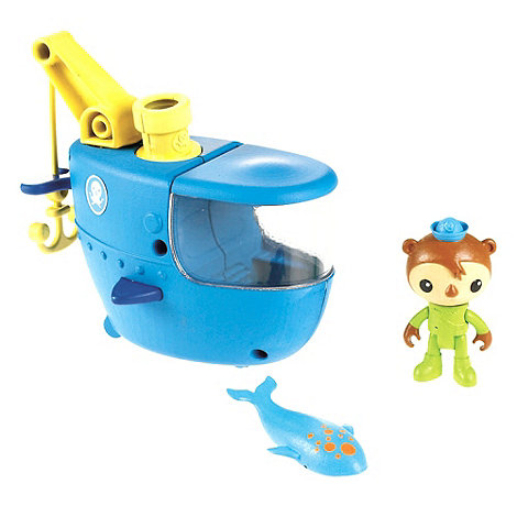 Octonauts - Gup C Shellington & Whale