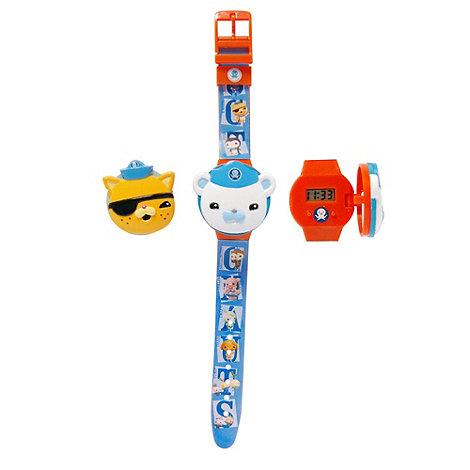 Octonauts - Interchangeable Head Flip-Top LCD Watch