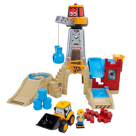 My 1st JCB - On Site Charlie Crane Playset