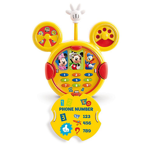 Mickey Mouse Clubhouse - Mickey Mouse Pretend Moblie Phone