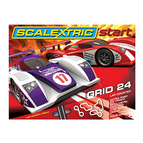 Scalextric - Grid 24 1:32 Scale Slot Race Set