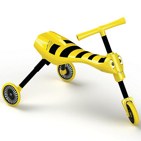 Scuttlebug - Yellow and black Scuttlebug ride-on