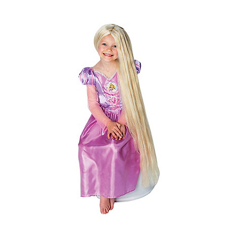 Disney Princess - Girl+s long Rapunzel wig