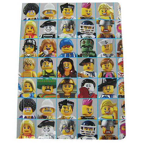 Dorling Kindersley - LEGO multi minifigure print journal book