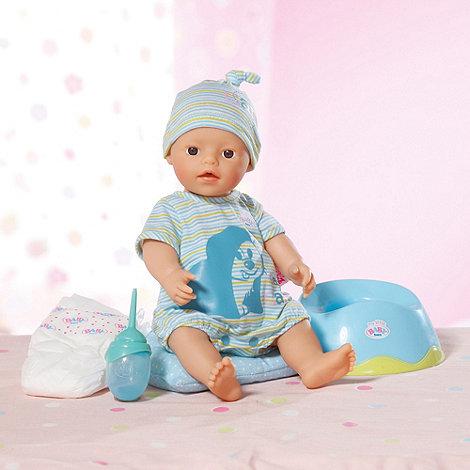 Baby Born - Potty Training Time Boy Doll