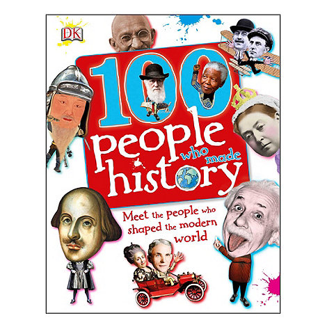 DK Books - 100 people who made history book