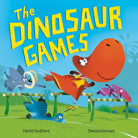 MacMillan books - The Dinosaur Games