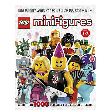 LEGO - Miinifigure ultimate sticker collection new book
