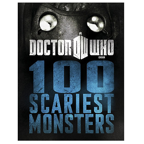 Doctor Who - 100 scariest monsters book