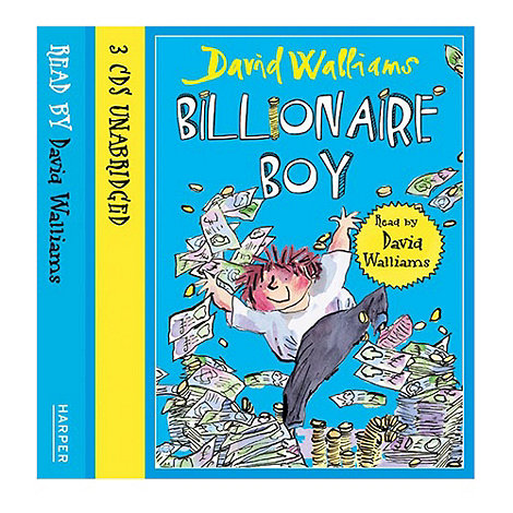 Harper Collins - David Walliams Billionaire Boy audio CD