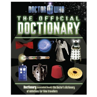Doctor Who Dictionary - . -