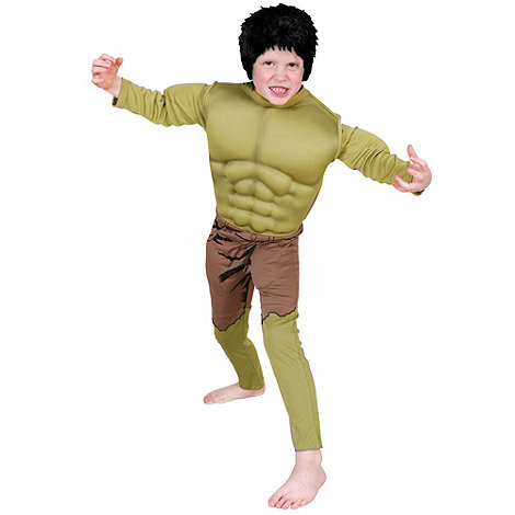 The Avengers - Boy+s Hulk costume