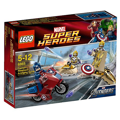 LEGO - Captain America+s Avenging Cycle- 6865