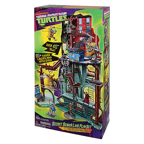 Teenage Mutant Ninja Turtles - Secret Sewer Lair Playset