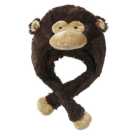 Pillow Pets - Monkey plush hat