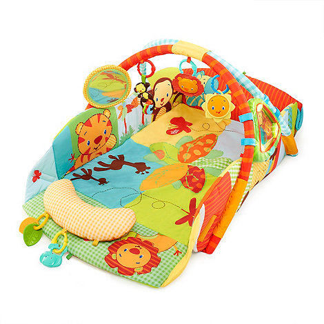 Bright Starts - Swingin+ Safari Baby+s playplace