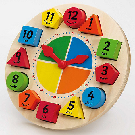 Tidlo - Wooden teaching clock