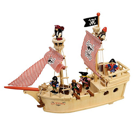 Tidlo - Wooden paragon pirate ship
