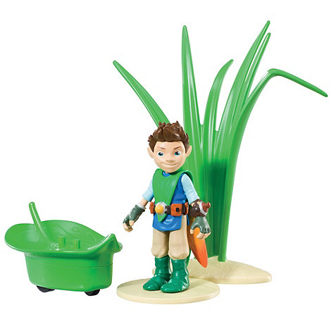 Tree Fu Tom - Tom with Skateboard deluxe figure