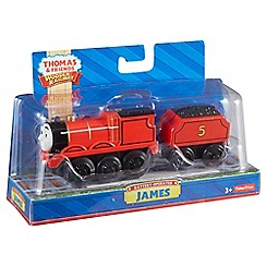 Thomas & Friends - Wooden Railway Battery-Operated James