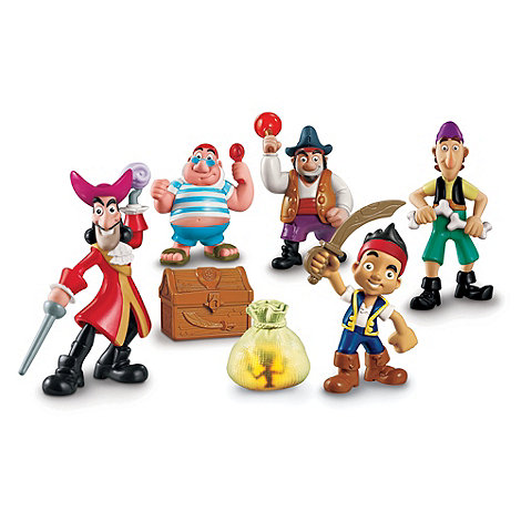 Mattel - Jake and the Neverland Pirates Deluxe Figure Adventure Pack