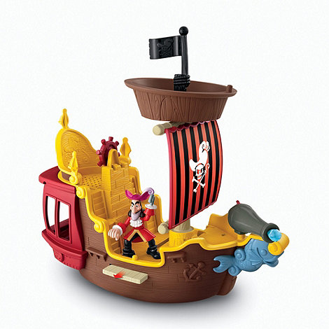 Mattel - Jake and the Neverland Pirates Hook's Jolly Roger Pirate Ship