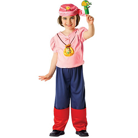 Jake & The Neverland Pirates - Izzy costume - 3-4 years