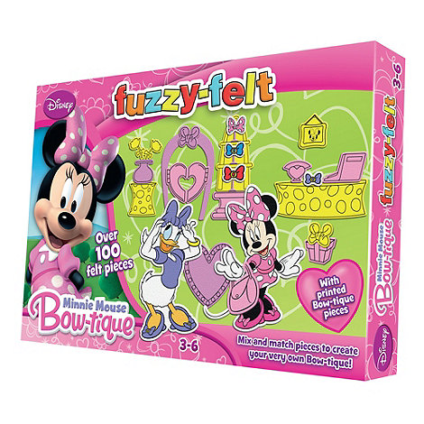 Minnie Mouse Bow-Tique - Fuzzy-Felt