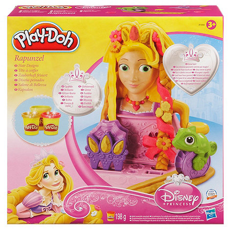 Disney Princess - Play-Doh Rapunzel hair designs