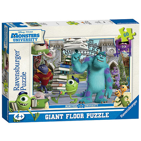 Monsters University - Mike and Sulley giant floor puzzle