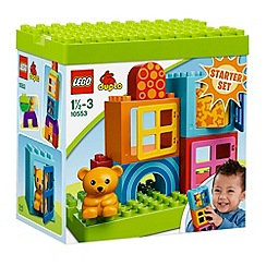 Lego - Toddler Build and Play Cubes - 10553