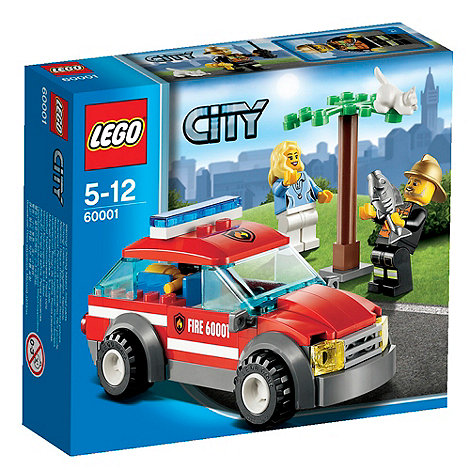 LEGO - Fire Chief Car - 60001
