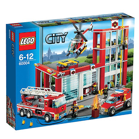 LEGO - Fire Station - 60004