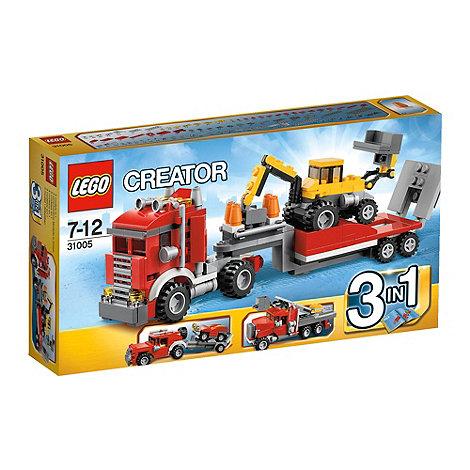LEGO - Construction Hauler - 31005