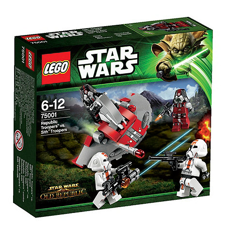 LEGO - Republic Troopers vs Sith Troope - 75001