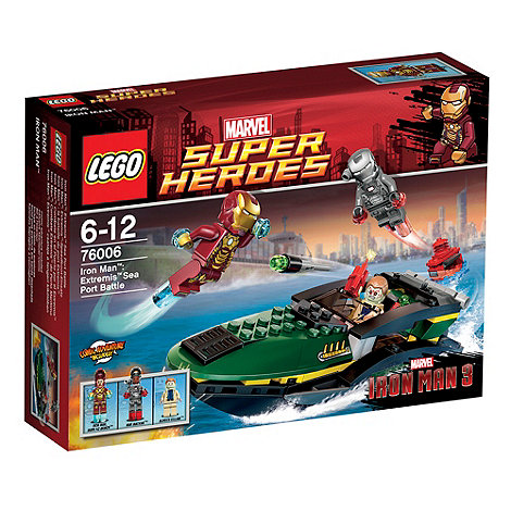 LEGO - Super Heroes Iron Man: Extremis Sea Port Battle - 76006